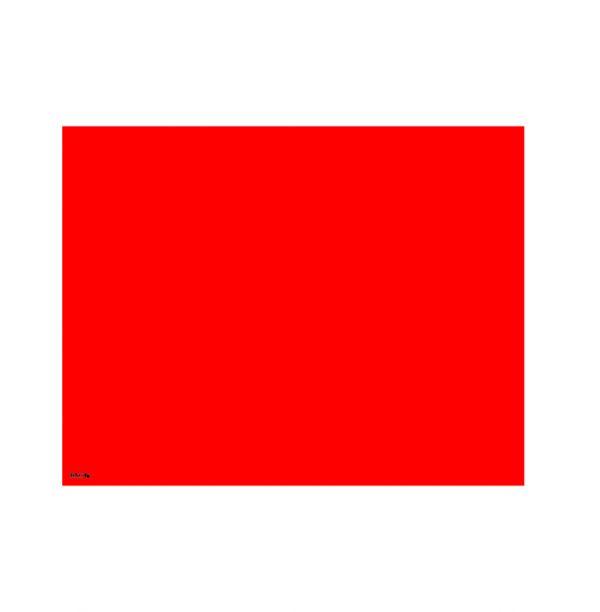 تخته وایت برد شیشه ای سوپرکلیر 90x70 قرمز